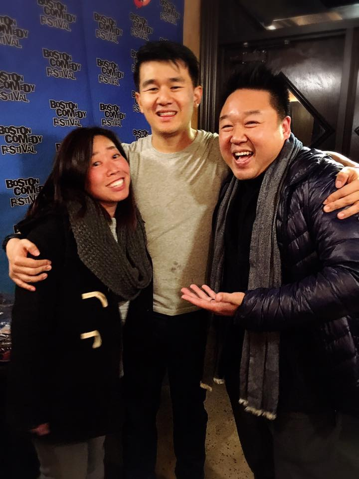 Meeting Ronny Chieng at the Boston Comedy Festival in 2016.