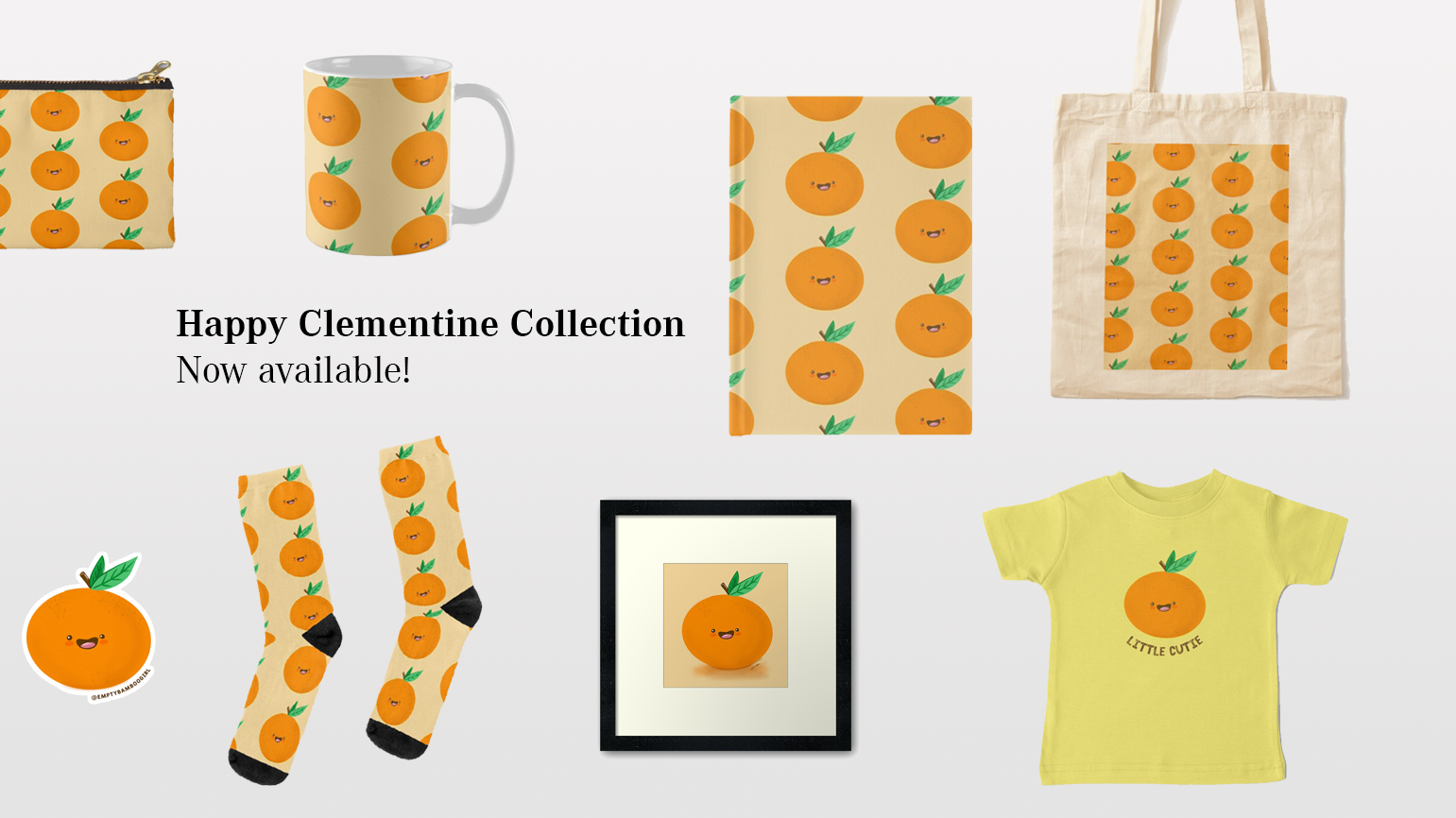 Happy Clementine Collection is Now Available
