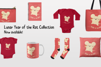 2020 Happy Lunar Year of the Rat Collection by Lillian Lee