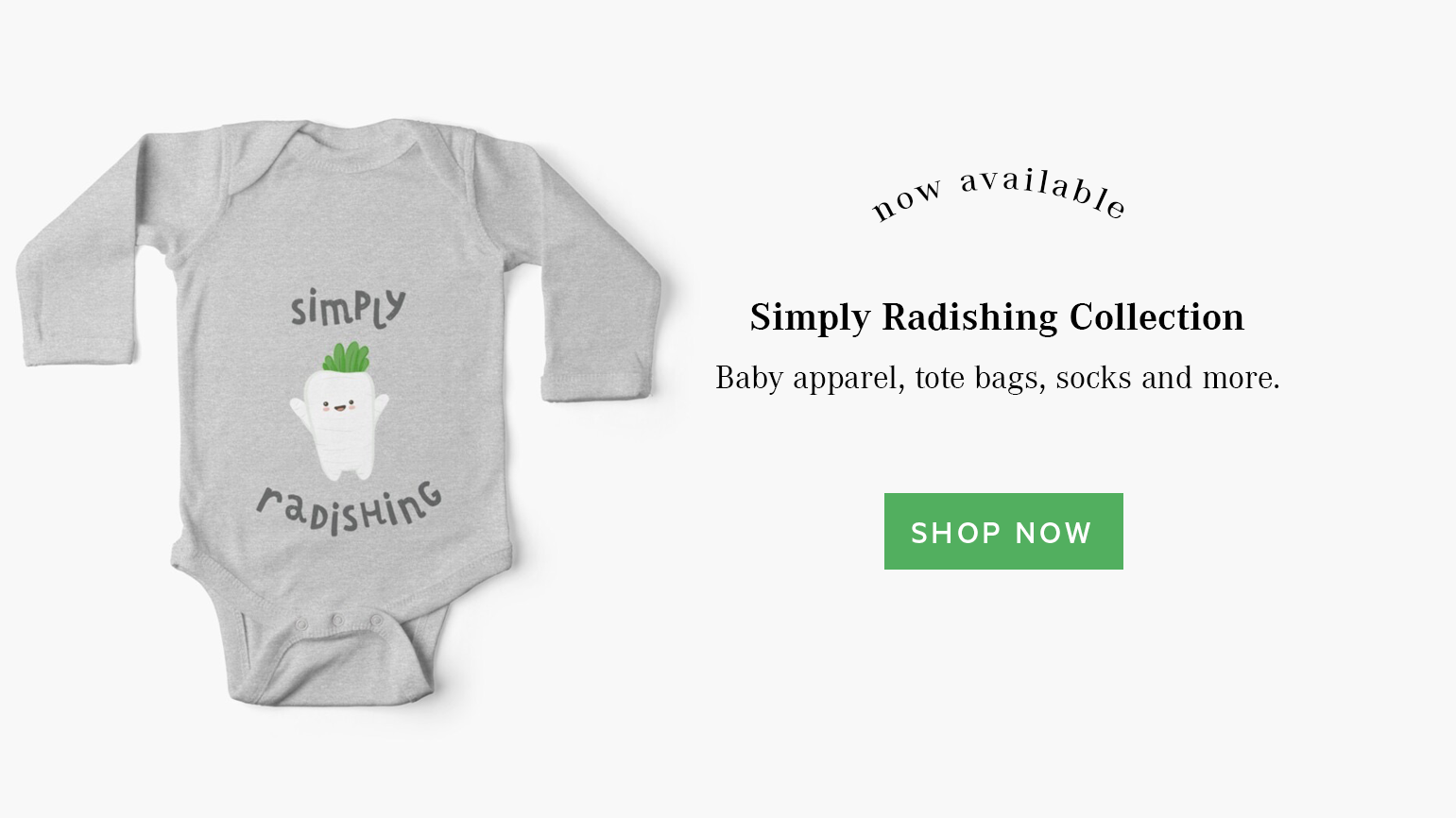 Simply Radishing Collection by EMPTY BAMBOO GIRL   Lillian Lee