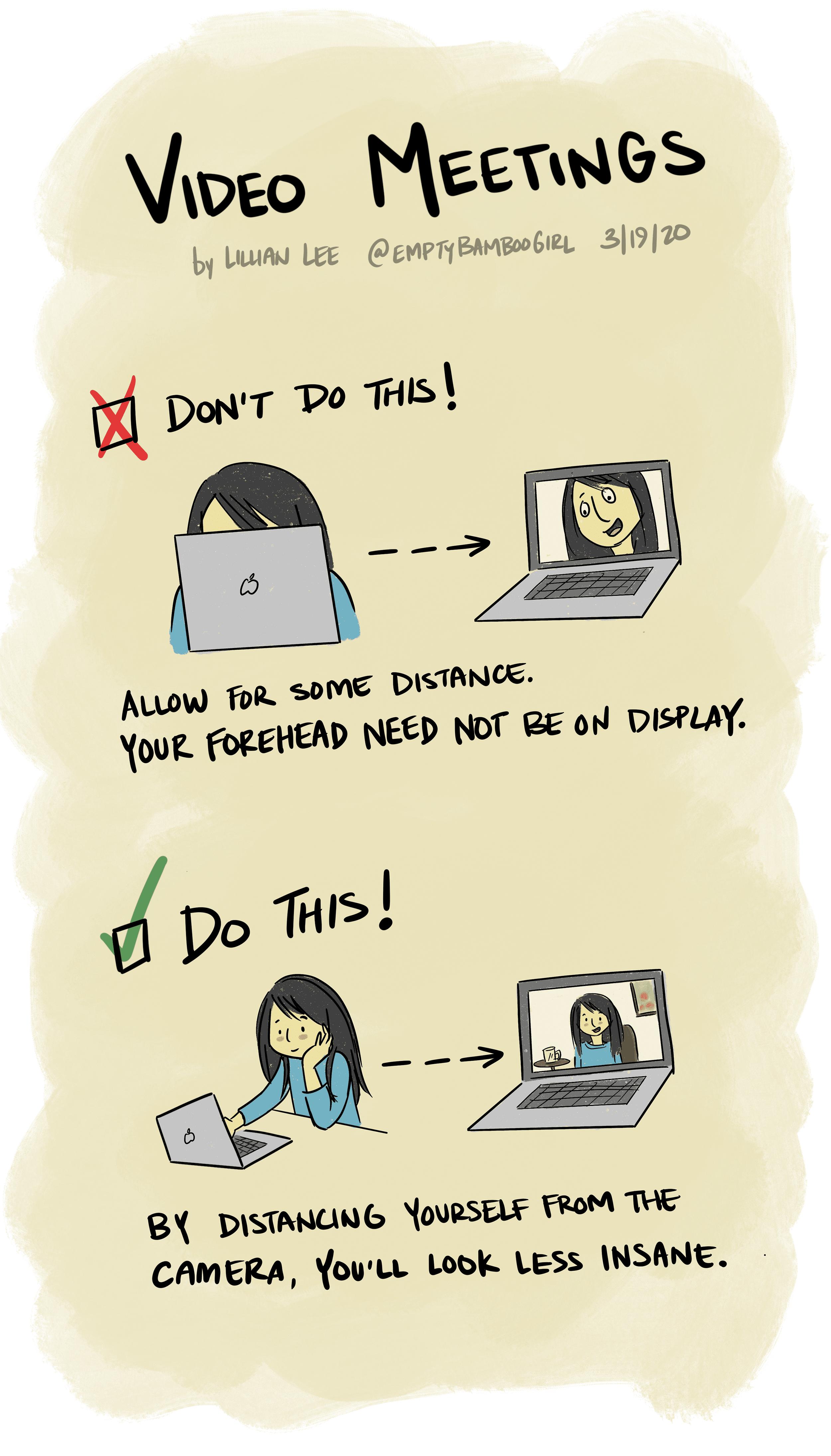 A Tip on Video Meetings