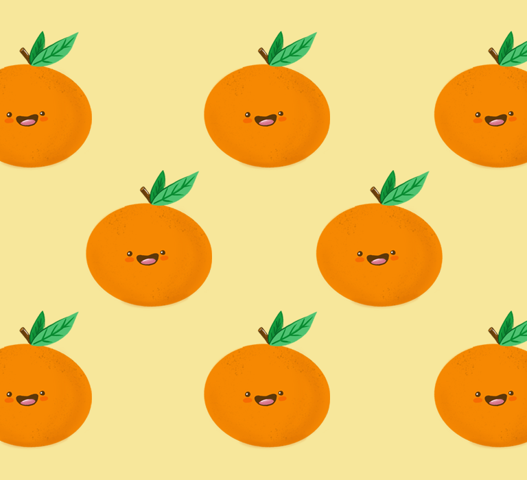 Happy Clementine Collection by EMPTY BAMBOO GIRL