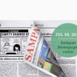 Sampan Newspaper comic, Is It Safe Yet? by Empty Bamboo Girl, aka Lillian Lee