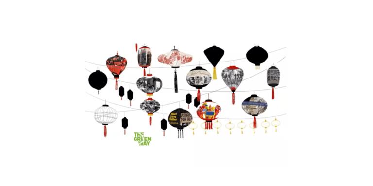 """""""Lantern Stories"""" Public Art Project by artist Yu-Wen Wu"""