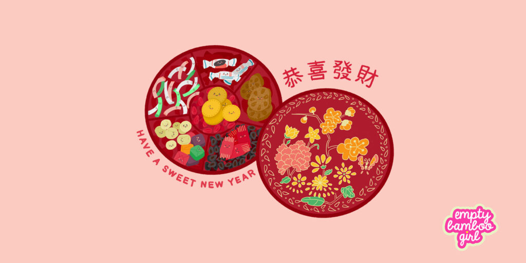 celebrate lunar new year | empty bamboo girl