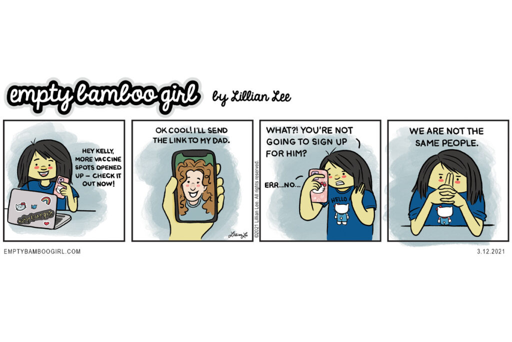 We are not the same people. | comics by empty bamboo girl